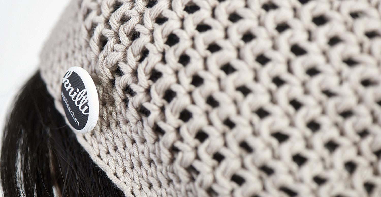 Detailaufnahme Häkelmütze Knitti