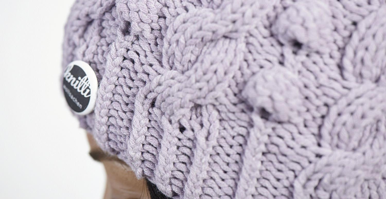 Detailaufnahme Strickmütze Knitti
