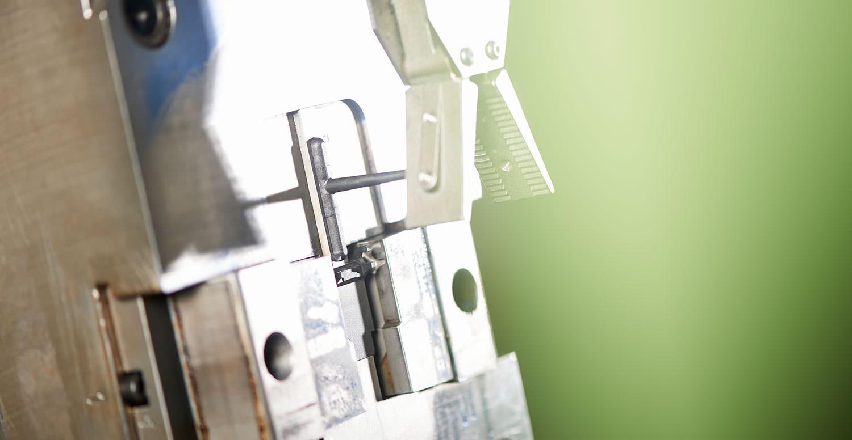 Detailaufnahme Maschine PURUS PLASTICS