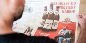 SuperAle Anzeige in der Frankenpost