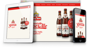 SuperAle Website Responsive